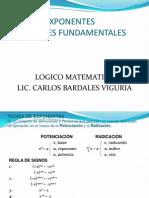 Teoría de Exponentes-operaciones Fundamentales
