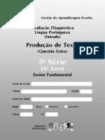 Prova5 Entrada LP Producao Textual Extra