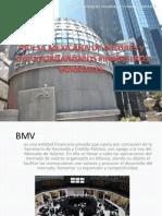 Bolsa Mexicana de Valores y Otros Organismos Financieros