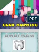Amalgam Seminar