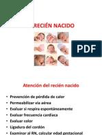 Atencion Del Recién Nacido