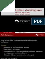 M2 L1 Ruby Rails Overview Handout