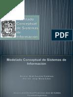 Modelado Conceptual de Sistemas de Información
