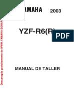 Yamaha R6 ManualTaller 03 04