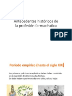 Microsoft PowerPoint - Antecedentes Históricos de La Profesión Farmacéutica