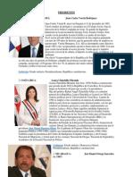 Presidentes de Centro America 2014