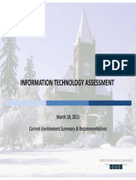 UNH IT Assessment Risks