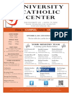 UCC Bulletin 9-21-2014