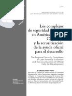 COLOMBIA Y LA AYUDA OFICIAL DE LA SECURITIZACION P`EL DESARROLLO JR
