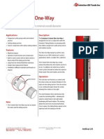 E-Swivel Slim One-Way Technical Datasheet