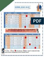 Calendar Scolar 2015