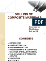 Drilling of Composite Materials