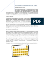 Electrones de Valencia, Estructura de Lewis y Regla Del Octeto