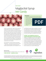 3.	HYSTAR® polyglycitol syrup in sugar free candy white paper