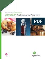 GLYSTAR® performance systems fact sheet