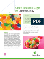 MALTISWEET® maltitol syrup no-sugar-added, reduced-sugar and sugar-free gummi candy white paper