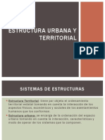Estructura Territorial y Urbana