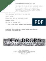 Dew Drops, Vol. 37, No. 09, March 1, 1914 by Various