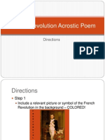 french revolution acrostic poem