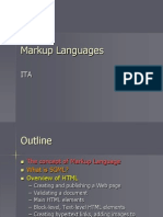 Markup Languages