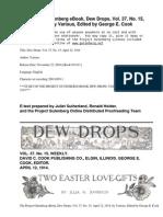 Dew Drops, Vol. 37, No. 15, April 12, 1914 by Various