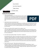 assignment 1 career plan