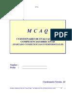 Protocolo MCAQ