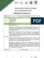 Programa II Encuentro Iberoamericano de Cooperación Tecnológica