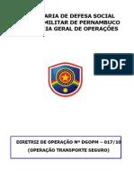 Dtz Op 017-10 - Operação Transporte Seguro