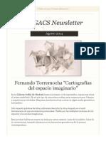 Newsletter Nº 22 Agosto 2014