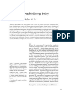 Designing a Durable Energy Policy