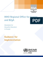 Guidance for Implementation