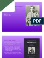 Einstein as a Philosopher of Science