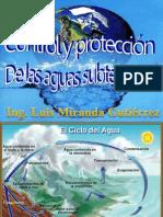 Control de Proteccion de Aguas Subterraneas