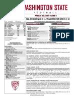 WSU 14FB Game Notes - Oregon