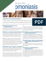 Trichomoniasis Factsheet s 2009