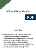 Normas Tecnicas Astm