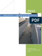 Tipos de Flujo en Canales