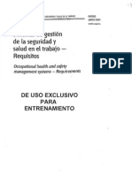 Sistema de Gestión de Seguridad y Salud Ocupacional OHSAS 18001-2007 (3)