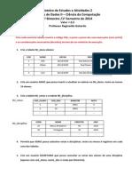 Roteiro de Atividades 2 - BIM 1
