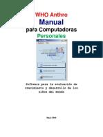 Manual Antro Español