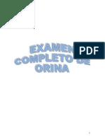 Examne Completo de Orina