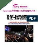 Festival Cervantino Solo Hospedaje