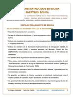 Bolivia Inversiones Esp