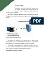 1.2 Arquitectura de Las Aplicaciones Web