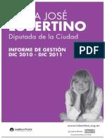 Informe de Gestión 2010-2011