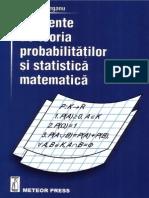 Teoria Probabilitatilor Si Statistica Matematica