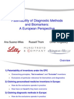 Diagnostic Methods Biomarkers EP