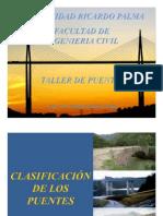 02 Clasificacion de Los Puentes