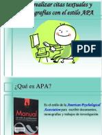 Normas APA Modulo Fundamentacion Teorica